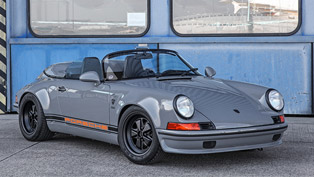 a special tuning project revives an old porsche speedster. check it out!