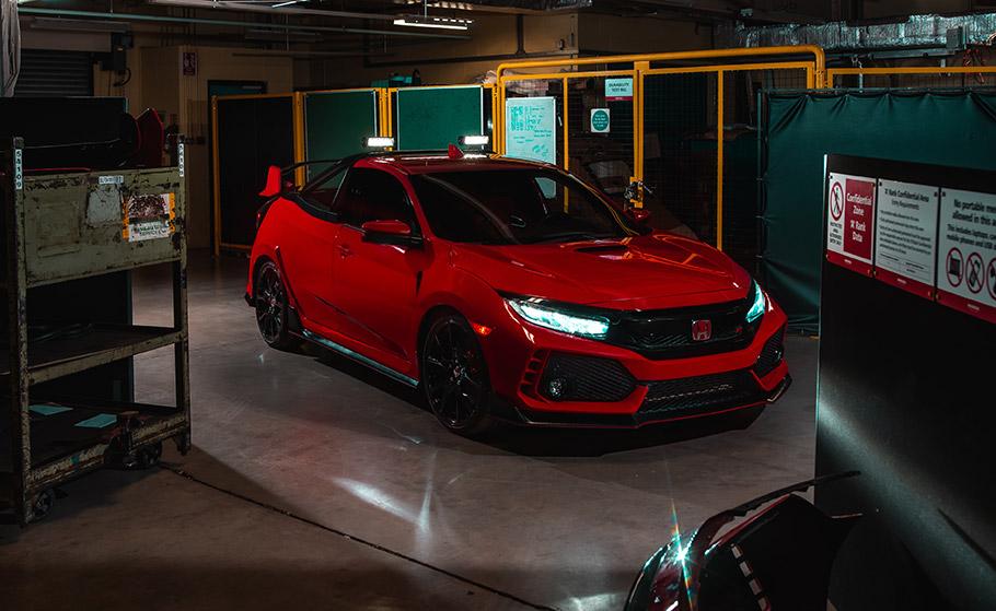 2018 Honda Type R Truck Concept