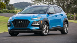 Hyundai Kona receives prestigious awards for overall excellent vehicle