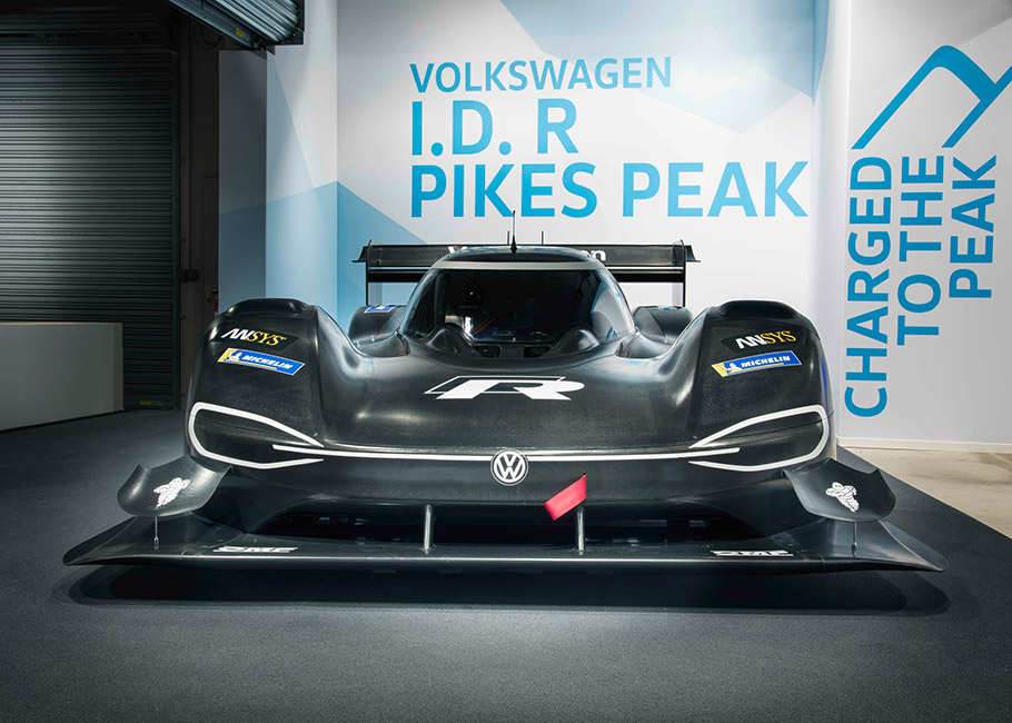 2018 Volkswagen I.D. R Pikes Peak