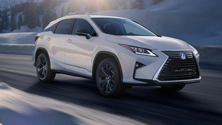 Lexus reveals RX Crafted Lineup