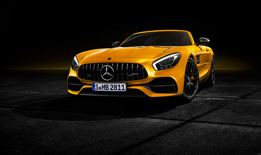 2018 Mercedes-AMG GT S Roadster