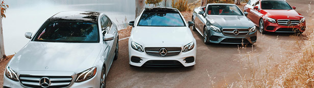 Mercedes showcases new E-Class models