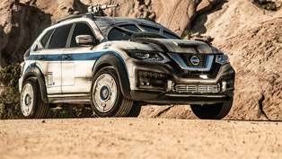 Nissan reshapes a Rogue into the Millennium Falcon