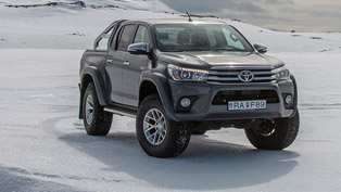 Toyota and Arctic Trucks reveal a rather special Hilux model