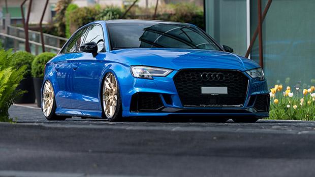Z-Performance team refines an Audi RS 3 model