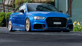 z-performance team refines an audi rs 3 model