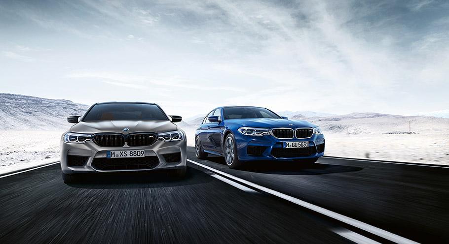 2018 BMW M5 Competition Sedan