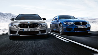 bmw team showcases m5 competition models