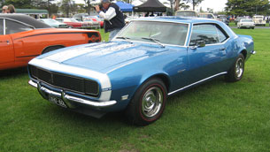 Chevrolet's Camaro through the Generations
