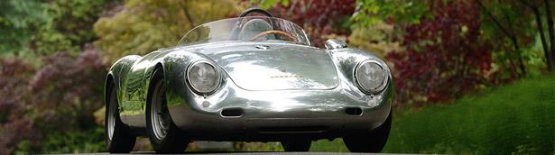 Mecum Auctions reveal a super-rare 1958 Porsche Spyder