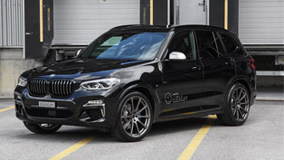 a lucky bmw x3 unit gets an exclusive upgrade. check it out!