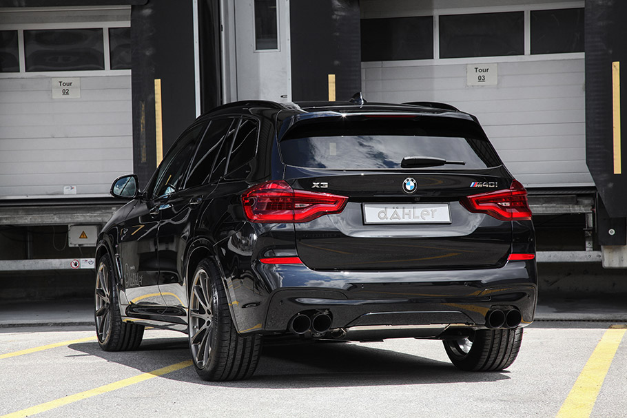 2018 Dähler Design & Technik GmbH BMW X3