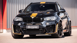 g-power team showcases a menacing x6 machine