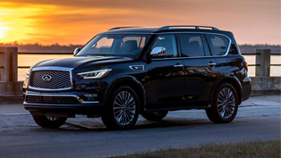 INFINITI QX80 is the winner at the NEMPA show!