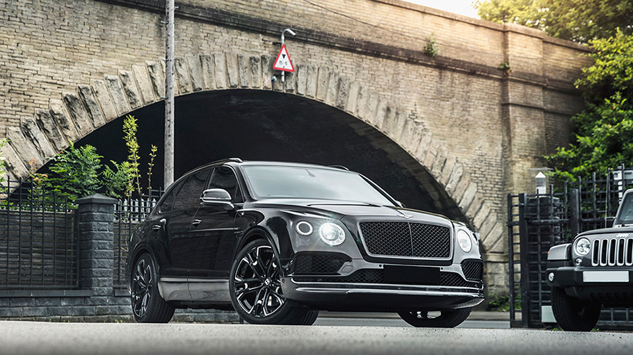 2018 Kahn Design Bentley Bentayga Diablo
