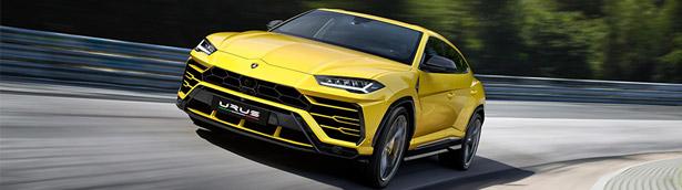 Lambo team reveals the latest Urus SUV at prestigious auto event
