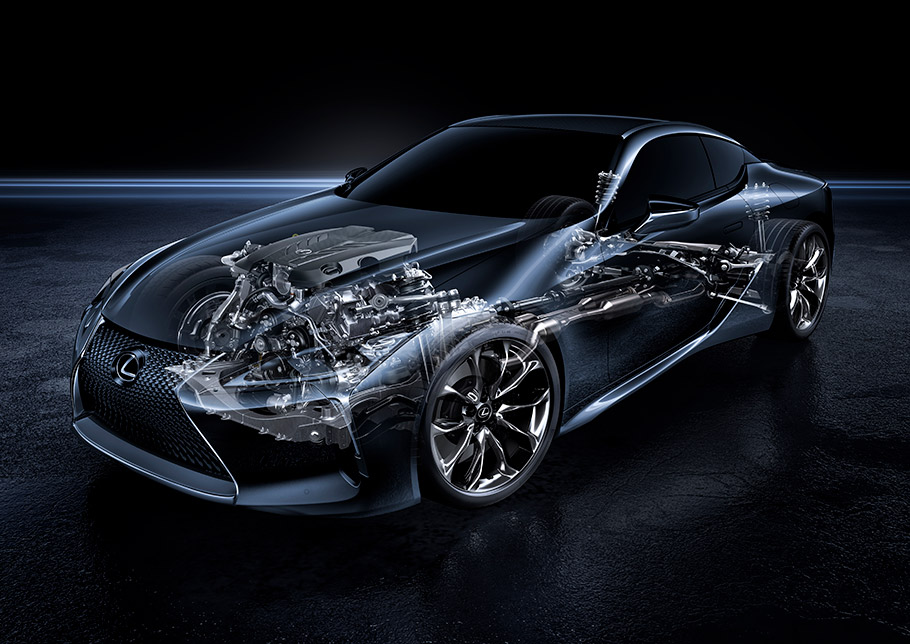 2018 Lexus V-Shape Engines