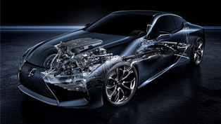 here are some neat details regarding lexus' power units!