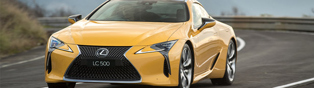 Lexus LC Coupe has earned special recognition by prestigious jury