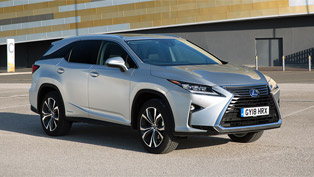 Lexus reveals trim levels and details for 450lH seven-seater