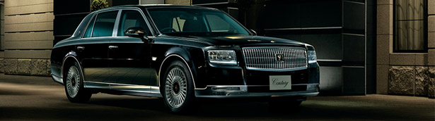 Toyota presents its latest limousine for the last 20 years