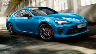 Toyota reveals GT 86 Blue Edition model