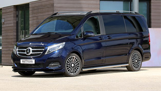 vansport.de offers sexy update for mercedes v-250