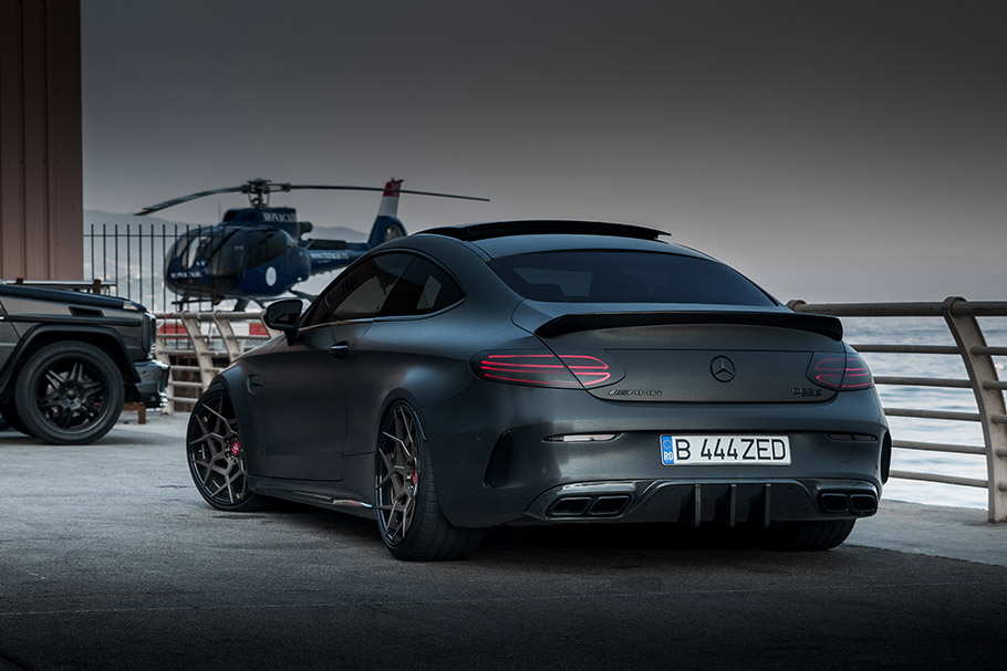 Z-Performance Mercedes-AMG C 63 Coupe Dark Knight