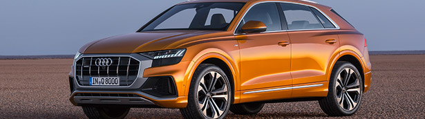 Audi presents the latest Q8 SUV machine. Check it out! [VIDEO]