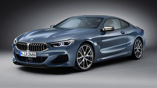 BMW showcases the 2019 8 Series Coupe model