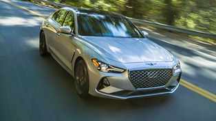 Genesis presents G70: the vehicle with incredible drivetrain system
