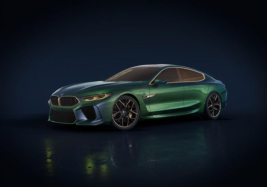 2018 BMW M8 Gran Coupe Concept