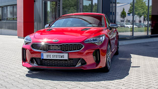 Kia Stinger is not only sexy, but also agile, thanks to DTE Systems