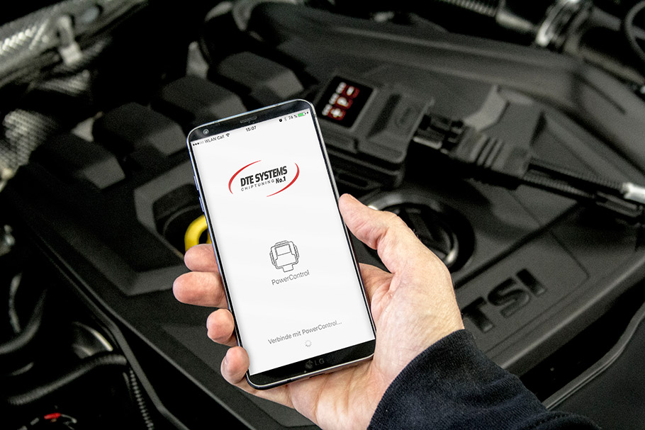 2018 DTE Systems Volkswagen T-Roc Chiptuning