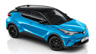 toyota announces new upgrade pack for 2018 c-hr suv