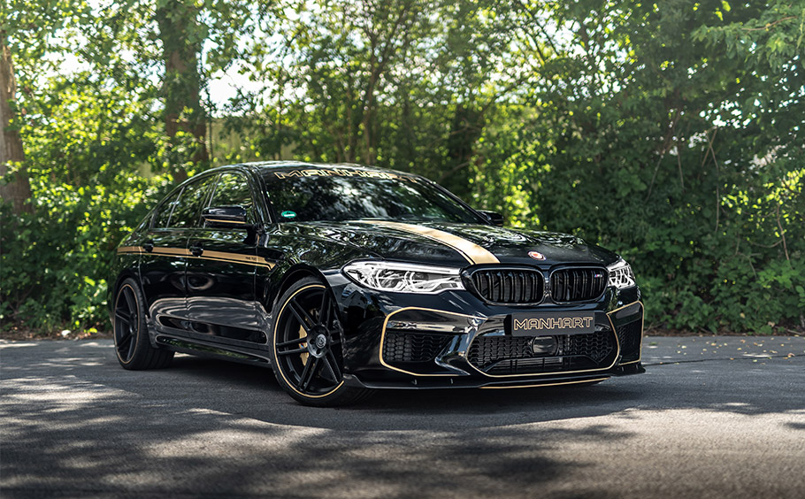 2018 MANHART Performance BMW M5 MH5 700