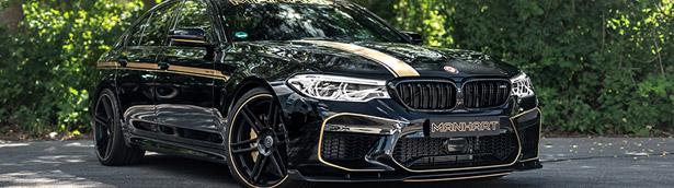 MANHART team upgrades a lucky BMW M5 F90 machine