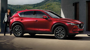 Mazda CX-5 earns five-star rating from IIHS