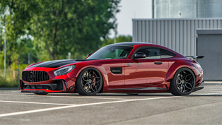 prior design creates exclusive body kit for mercedes-amg gt s