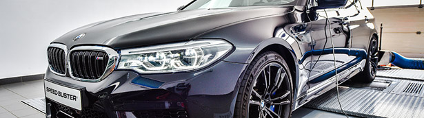 Speed-Buster team refines a sporty BMW F90 model
