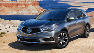 acura showcases details for the new 2019 mdx suv