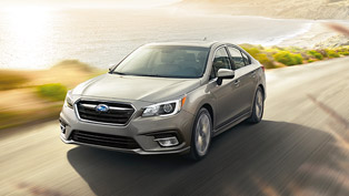 Subaru reveals details for Outback and Legacy models