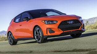 hyundai wins prestigious recognition for the new veloster turbo vehicle