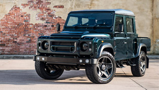 kahn design team reveals its sexy aintree defender vehicle