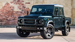 Kahn Design team reveals its sexy Aintree Defender vehicle