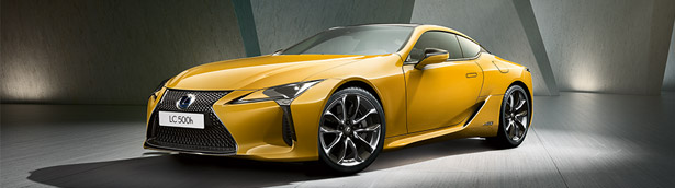 Lexus reveals the sexy and agile LC Limited Edition supercar