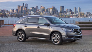 2019 Acura MDX Sport Hybrid reveals more details! Check it out!