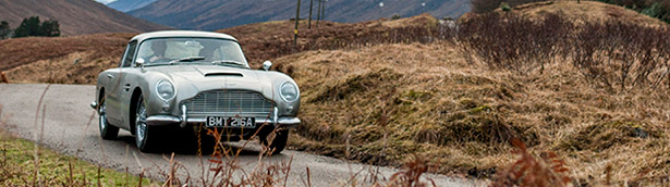 Aston Martin revives the iconic Golfifinger vehicle with limited edition series