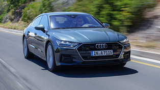 audi showcases more details about the new a7 coupe